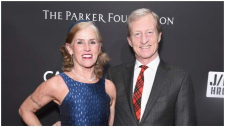 Tom Steyer and Wife, Kat Taylor
