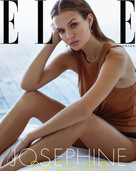 Josephine Skriver magazine elle, vogue