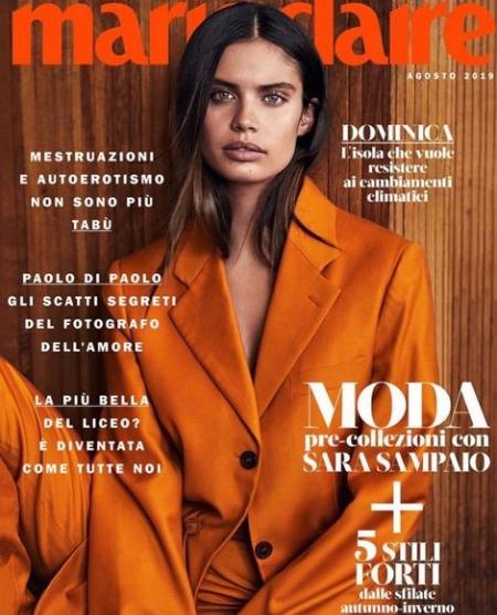 Sara Sampaio Magazine, Vogue