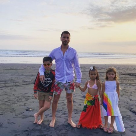 Scott Disick children, kids, daughter, son