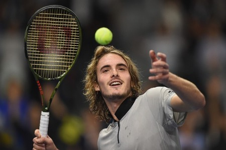 Stefanos Tsitsipas started Tennis career at a very young age