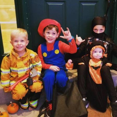 Grant Thompson Children, kids, sons