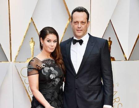 Vincent Vaughn and wife, Kyla Weber