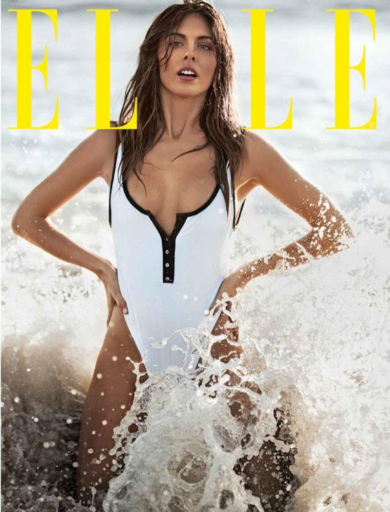 Carmella on cover of ELLE magazine