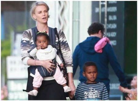 Charlize Theron baby, children, son, daughter, adopted