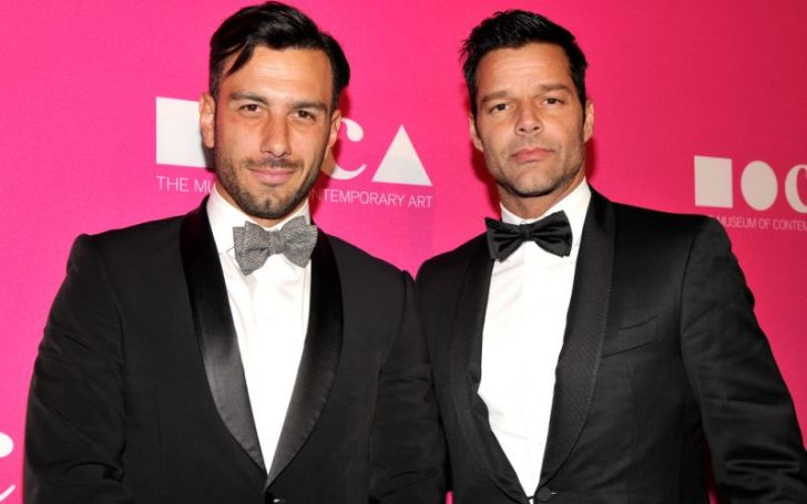 Ricky Martin husband, Yosef