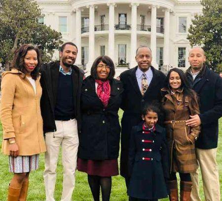 Ben Carson family, children, grandchildren, siblings, daughters
