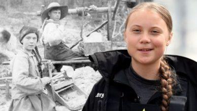 Greta Thunberg time traveler