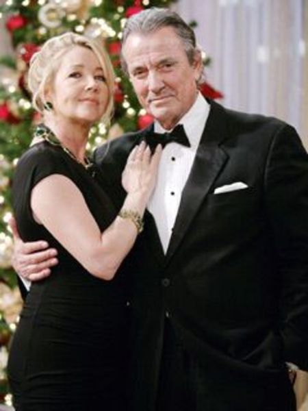 young and restless, victor and nikki