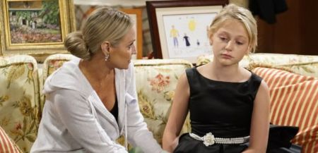 young and restless, Faith and Sharon
