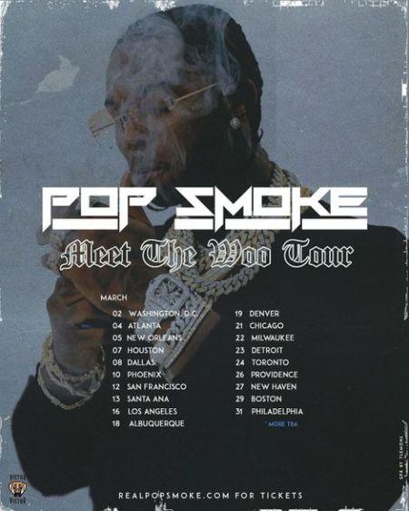 Rapper Pop Smoke career