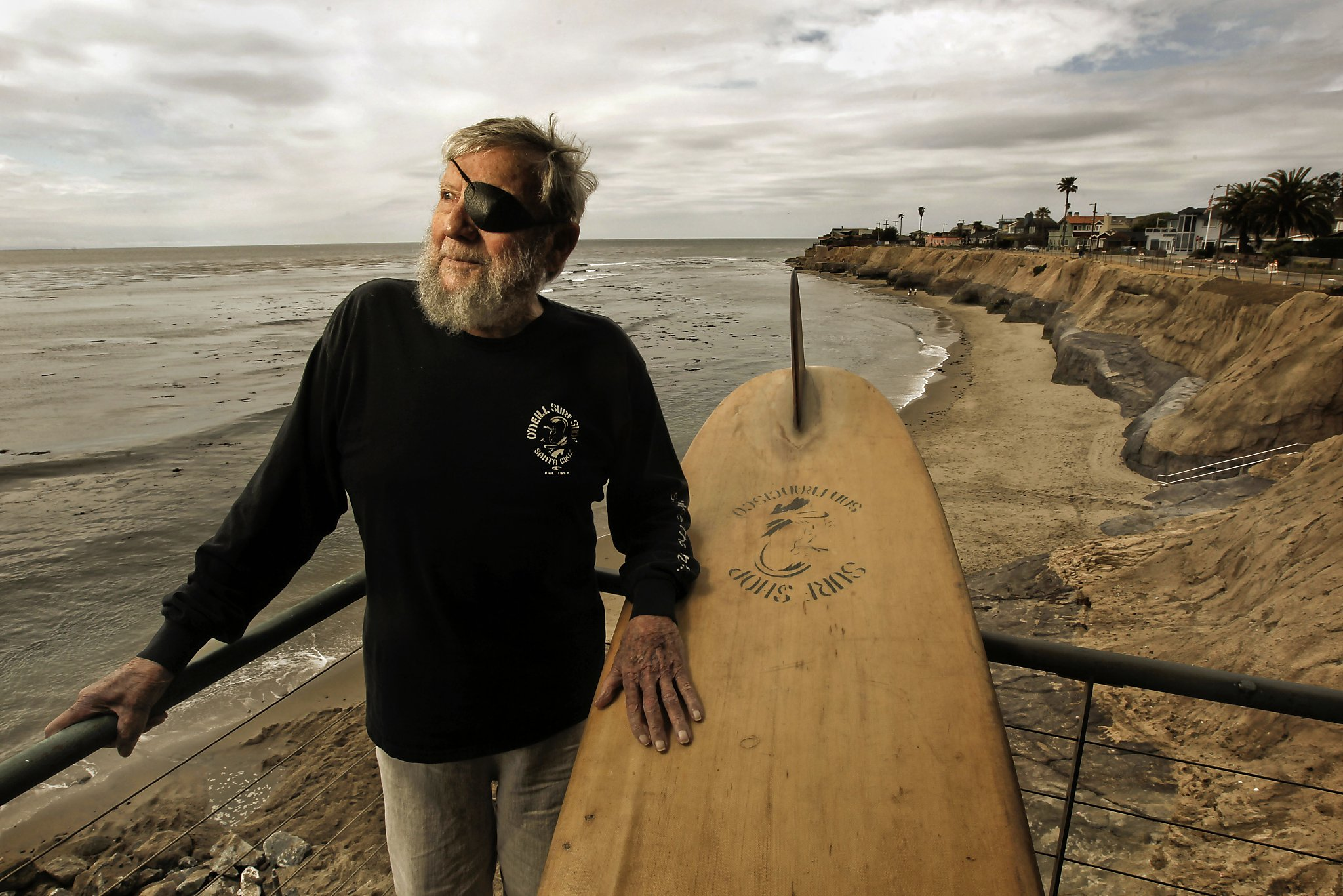 Jack O'Neill Surfing